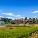 The outskirts of Antananarivo, Madagascar